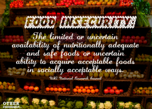 food insecurity description