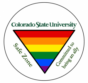 CSU Safe Zone logo