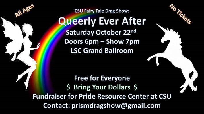 Queerly Ever After drag show schedule