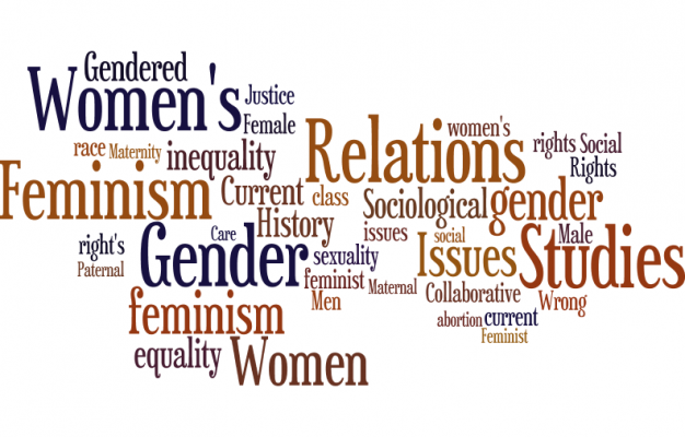 collection of words related to feminism