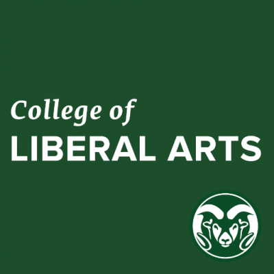 college of liberal arts with Colorado State University ram emblem