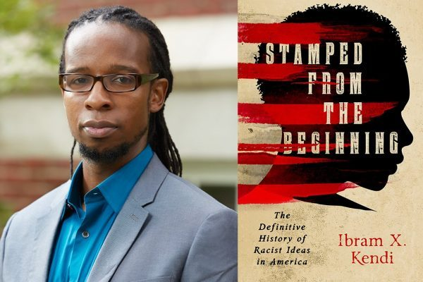 Dr. Ibram Kendi and his book, Stamped From the Beginning