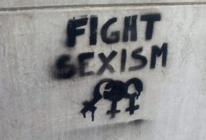 fight sexism graffiti