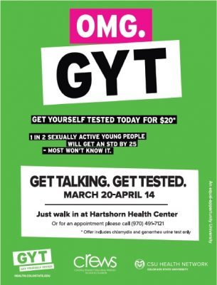 get yourself tested poster