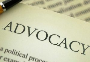advocacy in print