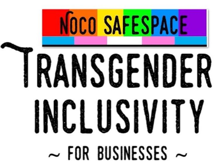 NOCO Safespace Transgender Inclusivity for Businesses
