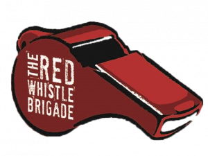 Red Whistle Brigade logo