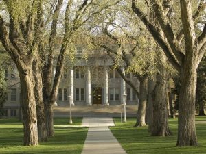 The Administration Building at Colorado State University