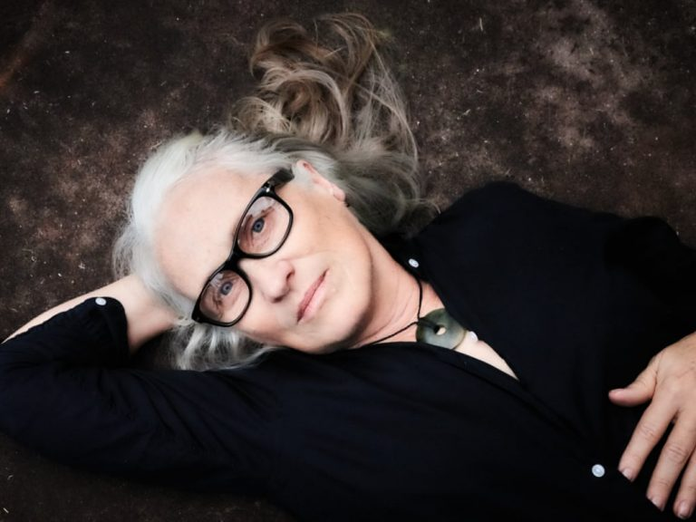 Jane Campion looks at the camera