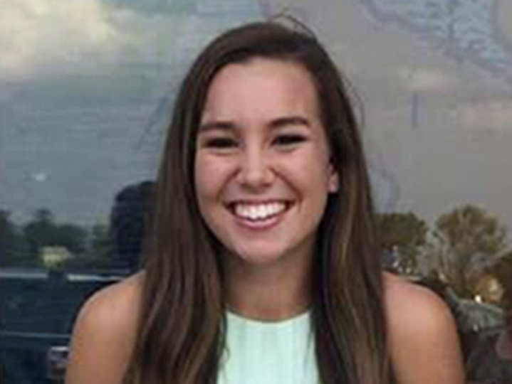 Molly Tibbetts smiling at the camera