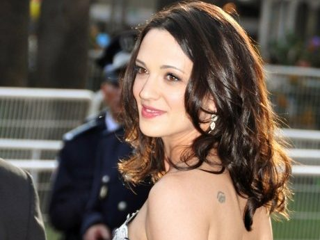 Asia Argento on the red carpet