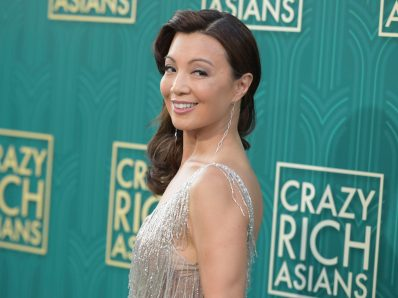 Ming-Na Wen smiles for the camera