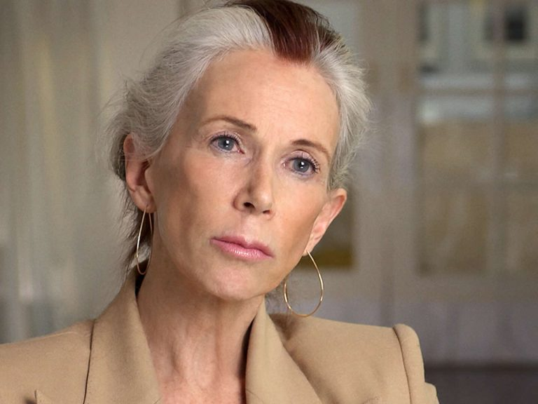 Catharine MacKinnon looks at the camera
