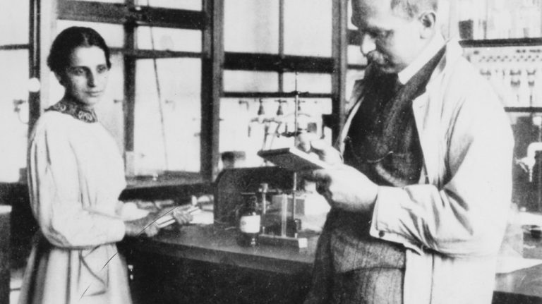 Lise Meitner and Otto Hahn, Germany, 1913