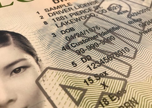 "A close up of a sample drivers license provided by the Colorado Department of Revenue. The state of Colorado will allow people who do not identify as male or female to mark ""x"" as the sex identifier on their drivers license starting Nov. 30, 2018."
