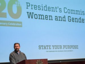 The Presiden's Commission on Women and Gender Equity celebrates is's 20th anniversary, October 3, 2017.