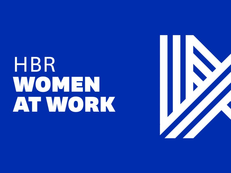 HBR Women at Work Logo