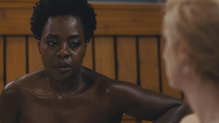 "still of Viola Davis in ""Widows"""
