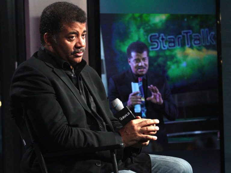 Neil deGrasse Tyson at a Question and answer session