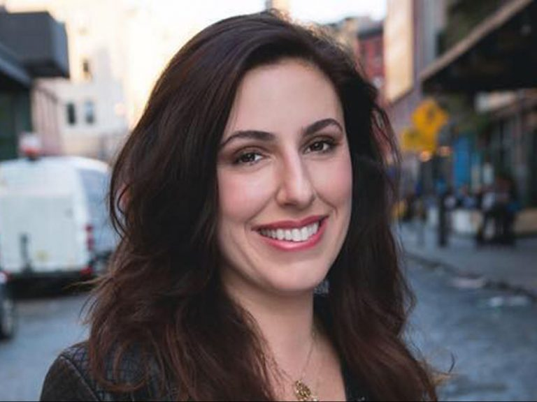 Jessica Valenti looks at camera