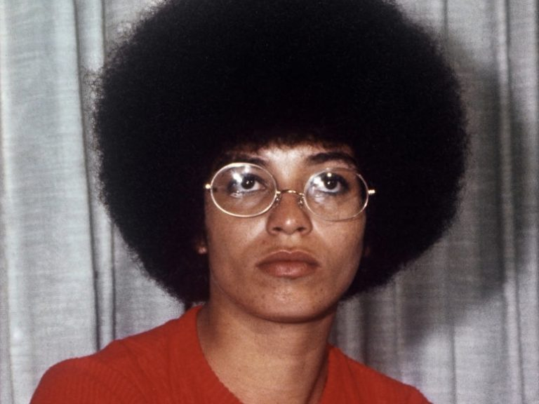 Angela Davis in her youth
