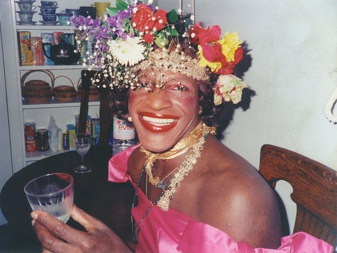 Marsha P. Johnson smiles for camera