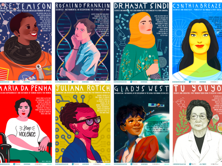 posters of women innovators