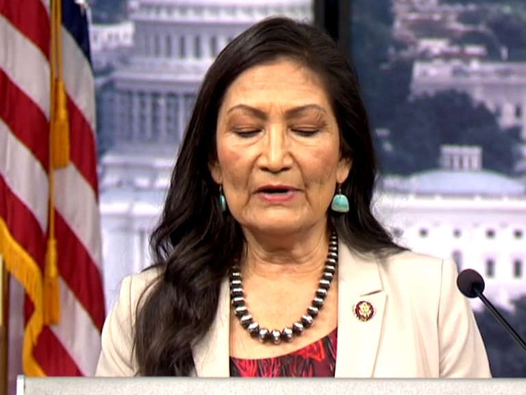 Rep. Deb Haaland Calls for More Resources to End Violence Against Indigenous Women