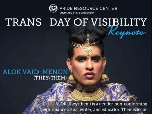 Trans Day of Visibility Keynote poster