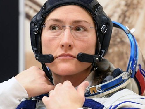Christina Koch was one of the astronauts due to take part. Only 11% of people who have been to space are women