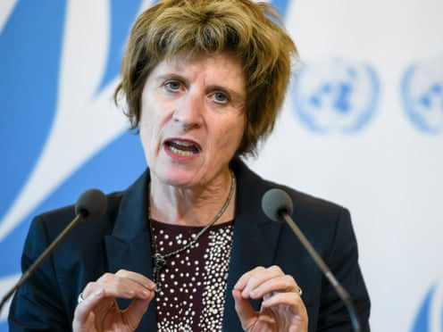 United Nations deputy high commissioner for human rights, Kate Gilmore