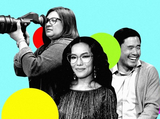 "Of the Always Be My Maybe stars Ali Wong and Randall Park, the director Nahnatchka Khan says: ""You have two racehorses. You've got to let them run!"""
