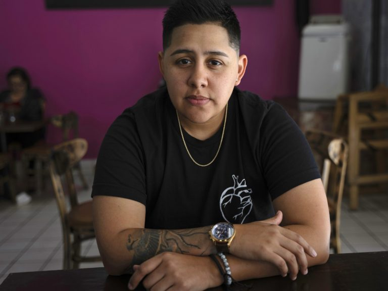 Marisa Rivas, who identifies as nonbinary, is taking low-dose testosterone