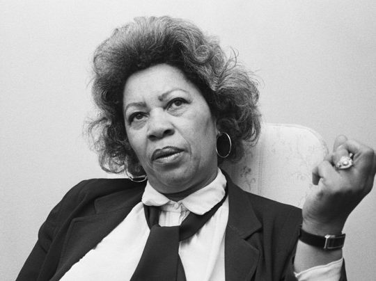 Novelist Toni Morrison Discusses Playwriting