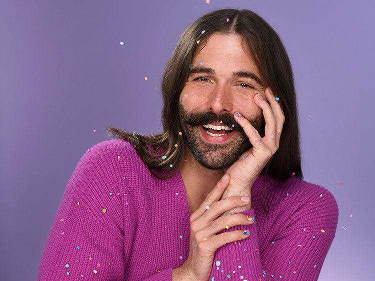 Jonathan Van Ness posing for a photo