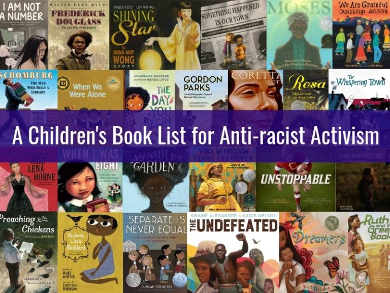 A Childrens Book List for Anti-racist Activism