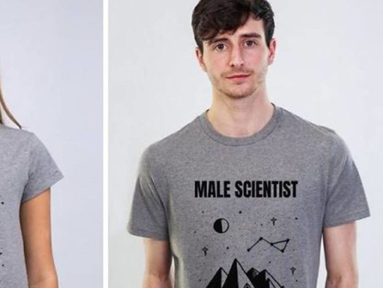 male scientist shirt