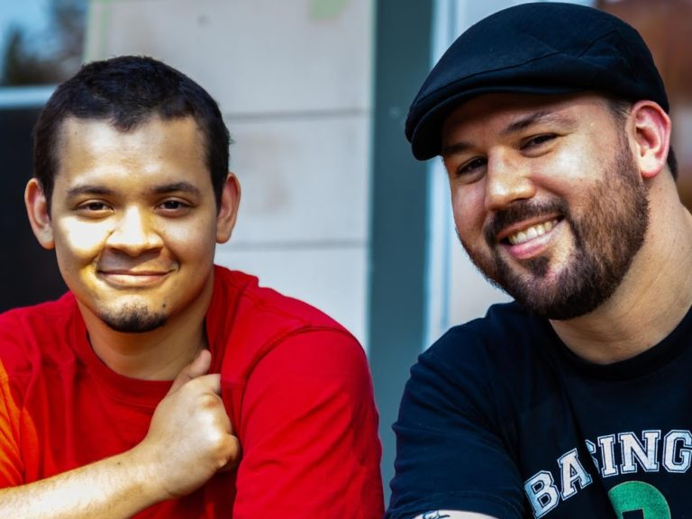 "Hosts Tony the Scribe and Kyle ""Guante"" Tran Myhre 